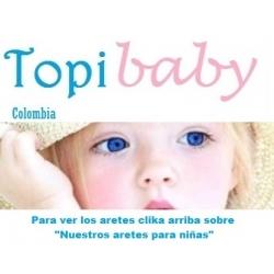 Aretes bebes Buritica, aretes niñas Buritica